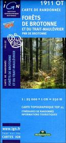Forêt de Brotonne ; Rouen ; 1911 OT - Intérieur - Format classique