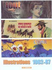 Tout Vance t.5 ; illustrations 1962-67 - Intérieur - Format classique