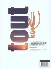 Tout Vance t.5 ; illustrations 1962-67 - 4ème de couverture - Format classique