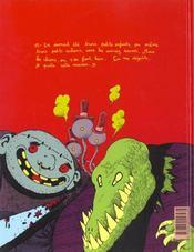 Petit Vampire t.3 ; Petit Vampire et la sociéte protectrice des chiens - 4ème de couverture - Format classique