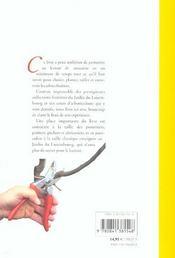 Arbres fruitiers - 4ème de couverture - Format classique