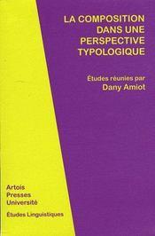 Composition Dans Une Perspective Typologique - Intérieur - Format classique