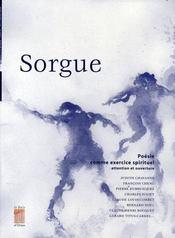 Sorgue, poésie comme exercice spirituel - Intérieur - Format classique
