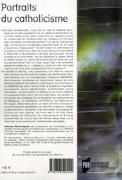 Portraits du catholicisme ; une comparaison européenne - 4ème de couverture - Format classique