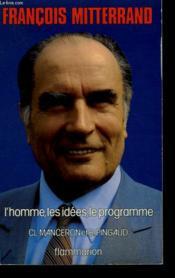 L'Homme, Les Idees, Le Programme. - Couverture - Format classique