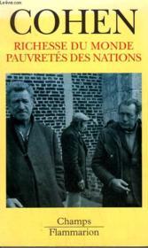 Richesse Du Monde, Pauvretes Des Nations. Collection Champ N° 415 - Couverture - Format classique
