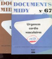 Lot De 2 Brochures - Documents Midy - N°74 Et 67 ( Le Tabac - Urgences Cardio Casculaires - Couverture - Format classique