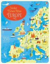 Vente livre :  Sticker picture atlas ; Europe  - Jonathan Melmoth
