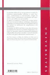 Institutions juridictionnelles 4e edition - 4ème de couverture - Format classique