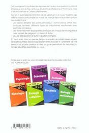 Chimie Organique Et Isomerie Rappels De Cours 660 Questions D'Auto-Evaluation Des Connaissances Corr - 4ème de couverture - Format classique