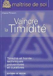 Comment Vaincre La Timidite Et La Honte - Intérieur - Format classique