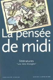 Revue La Pensee De Midi - Intérieur - Format classique