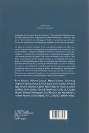 Revue La Pensee De Midi - 4ème de couverture - Format classique