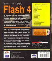 Flash 4 - 4ème de couverture - Format classique