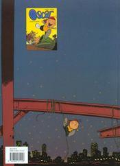 Oscar T.1 ; Boule De Gnome - 4ème de couverture - Format classique