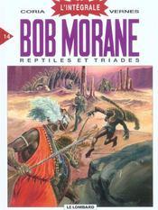 Bob Morane ; intégrale t.14 ; reptiles et triades - Intérieur - Format classique
