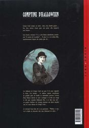Comptine d'Halloween t.2 ; farces macabres - 4ème de couverture - Format classique