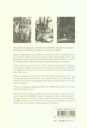 Légendes de France racontées par les arbres - 4ème de couverture - Format classique