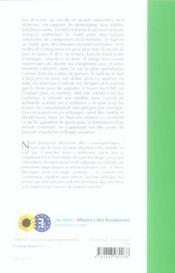 Nord-sud : nouveaux échanges, nouvelles frontières - 4ème de couverture - Format classique