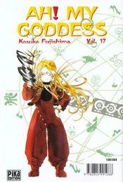 Ah! my goddess t.17 - 4ème de couverture - Format classique