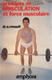 Principes de musculation et force musculaire - Couverture - Format classique
