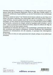Regard Sur La Gaule - 4ème de couverture - Format classique