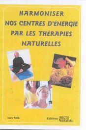 Harmoniser Centres D'Energie Ther. Naturelles - Intérieur - Format classique