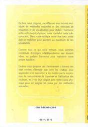 Harmoniser Centres D'Energie Ther. Naturelles - 4ème de couverture - Format classique