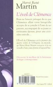 L'Eveil De Clemence - 4ème de couverture - Format classique