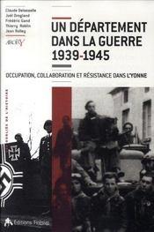 Un département dans la guerre, 1939-1945 - Intérieur - Format classique