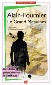 Le Grand Meaulnes - Couverture - Format classique