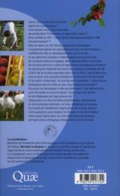Le tout bio est-il possible ? 90 clés pour comprendre l'agriculture biologique - 4ème de couverture - Format classique