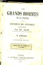 Les Grands Hommes De La France - Hommes De Guerre - Couverture - Format classique