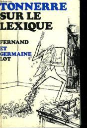 Tonnerre Sur Le Lexique - Couverture - Format classique