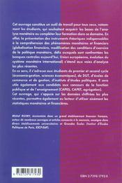 Economie Monetaire Prepa Commerciales Iep 1er Et 2e Cycles Universitaires Concours Administratifs - 4ème de couverture - Format classique