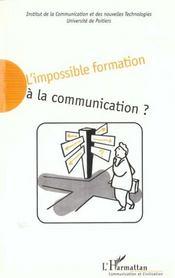 L'Impossible Formation A La Communication - Intérieur - Format classique