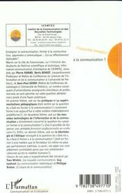 L'Impossible Formation A La Communication - 4ème de couverture - Format classique
