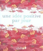 Une idée positive par jour - Intérieur - Format classique