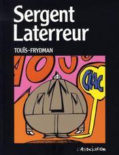Sergent laterreur - Intérieur - Format classique