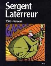 Sergent laterreur - 4ème de couverture - Format classique