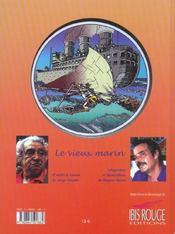 Le Vieux Marin. D'Apres Le Roman De Jorge Amado - 4ème de couverture - Format classique