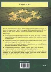 Geometrie Des Crop Circles - 4ème de couverture - Format classique
