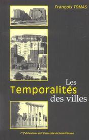 Les Temporalites Des Villes - Intérieur - Format classique