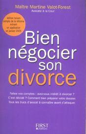 Divorce (Bien Negocier Son) Ne 2005 - Intérieur - Format classique