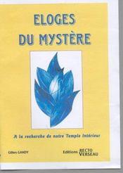 Eloges Du Mystere - Intérieur - Format classique
