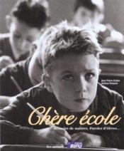 Chere Ecole - Couverture - Format classique