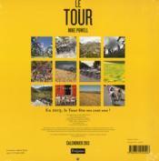 Calendrier le Tour 2013 - 4ème de couverture - Format classique