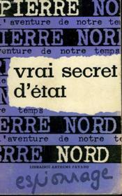 L'Aventure De Notre Temps N° 22 . Vrai Secret D'Etat. - Couverture - Format classique