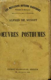 Oeuvres Posthumes. - Couverture - Format classique
