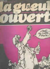 La Gueule Ouverte N°11 - C'Est La Lutte Finale - Couverture - Format classique